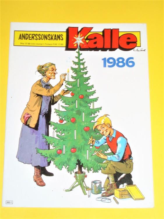 Anderssonskans Kalle 1986 VG,normalskick,normalslitet, inga direkta defekter.