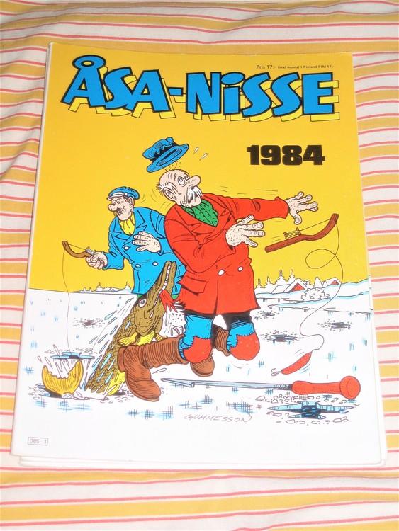 Åsa-Nisse årsalbum 1984 grundskick VF