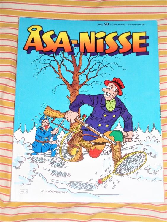 Åsa-Nisse årsalbum 1988  Mycket bra skick