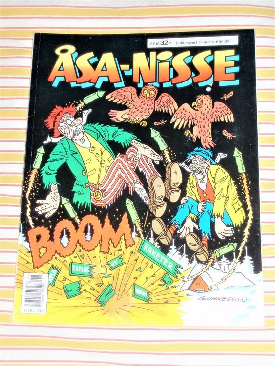 Åsa-Nisse årsalbum 1989 grundskick VF