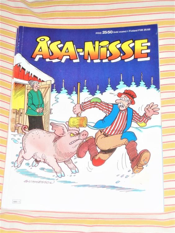 Åsa-Nisse årsalbum 1991 grundskick VF