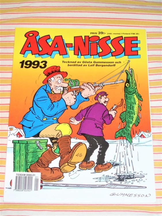 Åsa-Nisse årsalbum 1993 grundskick VF