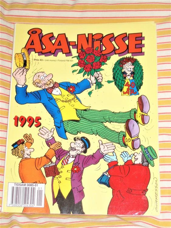 Åsa-Nisse årsalbum 1995 grundskick VF