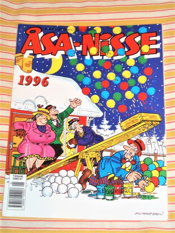 Åsa-Nisse årsalbum 1996 grundskick VF
