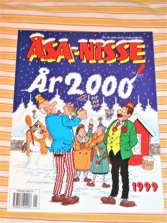 Åsa-Nisse årsalbum 1999 grundskick NM