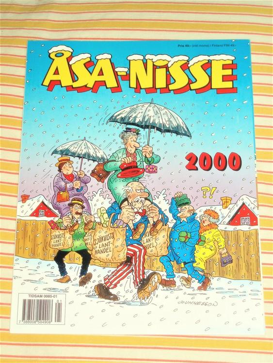 Åsa-Nisse årsalbum 2000 grundskick NM
