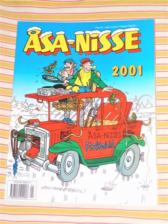 Åsa-Nisse årsalbum 2001, grundskick NM