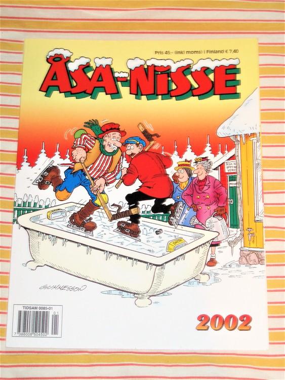 Åsa-Nisse årsalbum 2002, grundskick NM