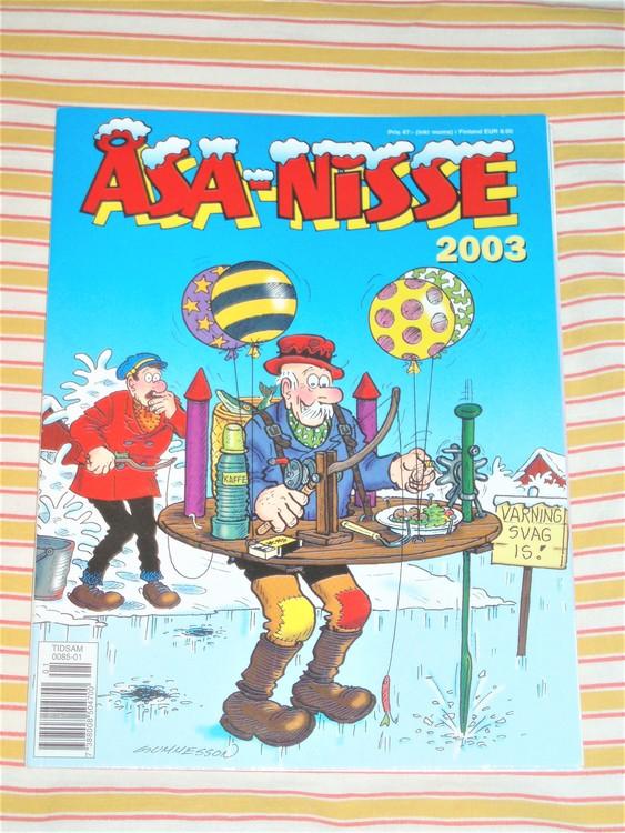 Åsa-Nisse årsalbum 2003, grundskick NM