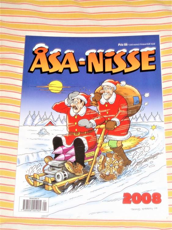 Åsa-Nisse årsalbum 2008, grundskick NM