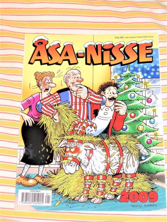 Åsa-Nisse årsalbum 2009, grundskick NM