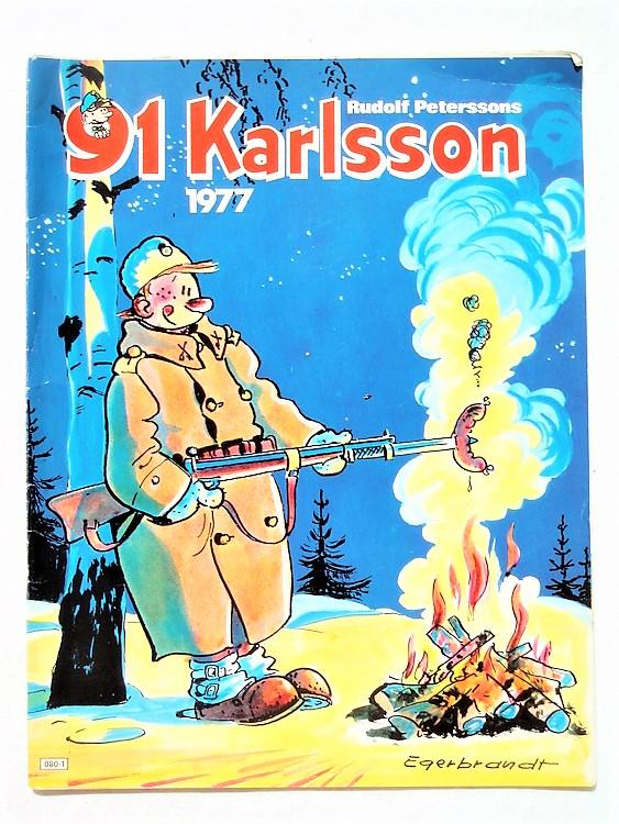 91:an Karlsson1977, häftad, semic