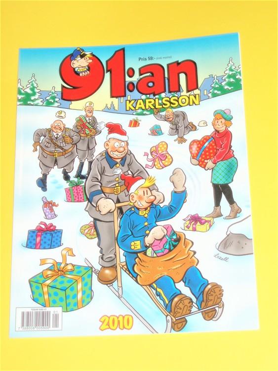 91:an Karlsson 2010 VF, färg, mycket bra skick, Egerbrant