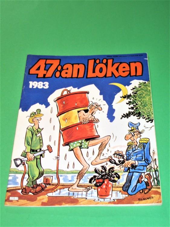 47:an Löken 1983, bra skick, normalskick,normalslitet