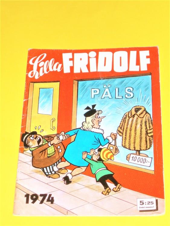 Lilla Fridolf 1974,häftad,normalskick normalslitet,semic