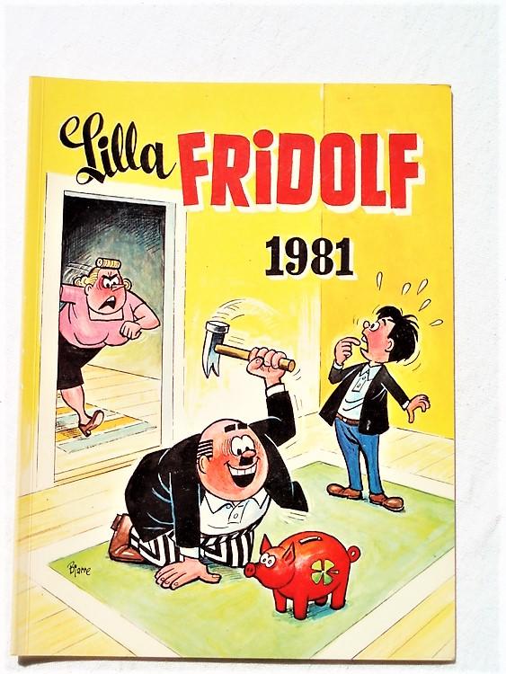 Lilla Fridolf 1981 normalslitet, mycket bra skick, semic