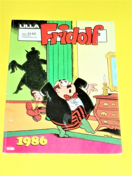 Lilla Fridolf 1986, normalskick, normalslitet, semic