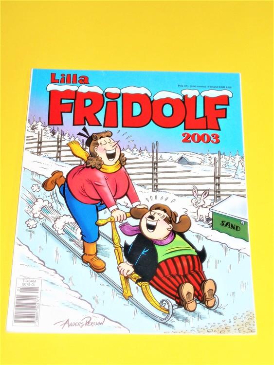 Lilla Fridolf 2003,NM,nyskick,eventuellt med någon defekt.A.Persson