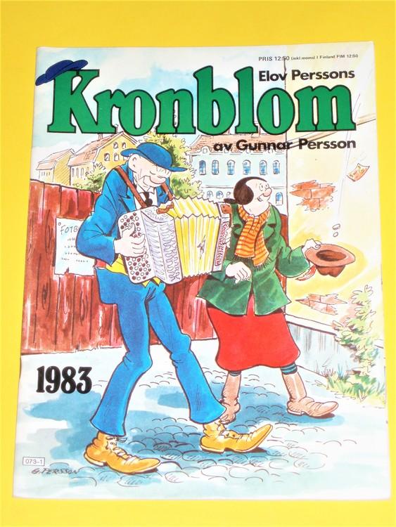 Kronblom 1983 bra skick normalskick,normalslitet