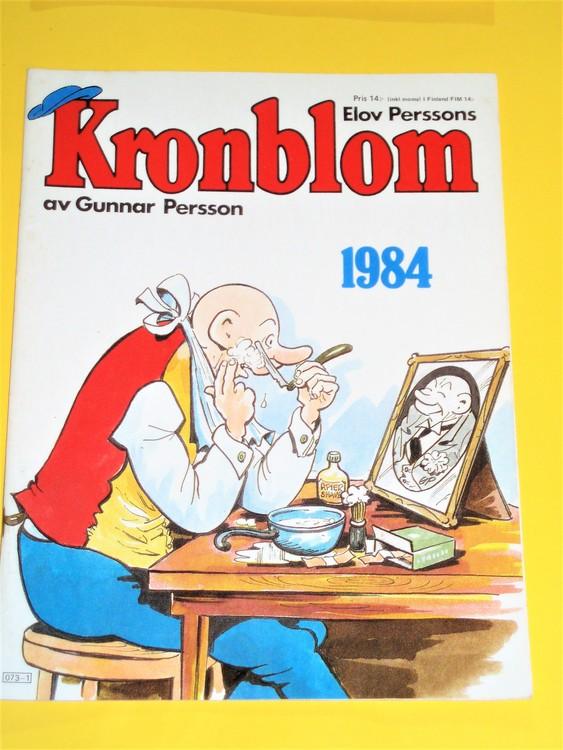 Kronblom 1984 bra skick normalskick,normalslitet