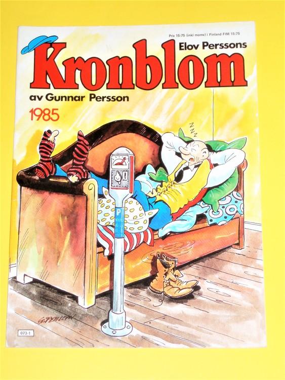 Kronblom 1985 bra skick, normalskick,normalslitet