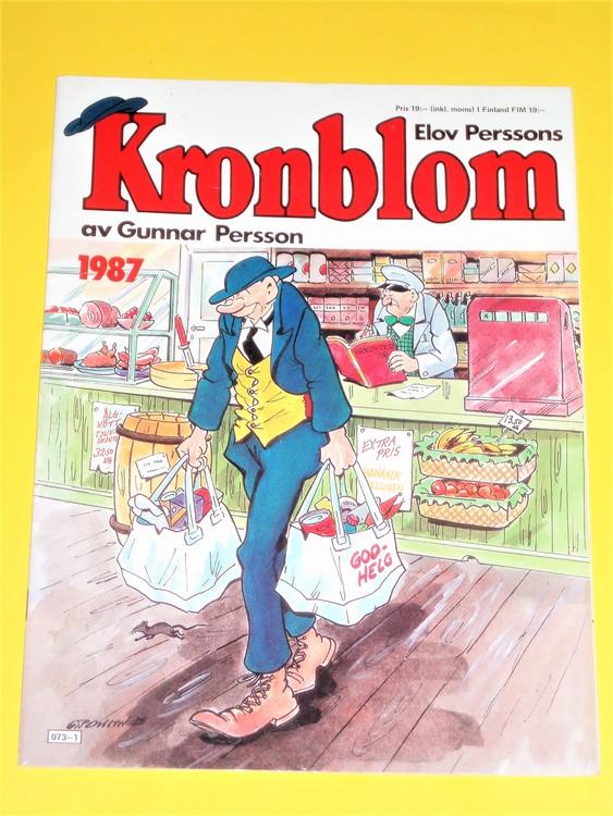 Kronblom 1987 bra skick normalskick,normalslitet