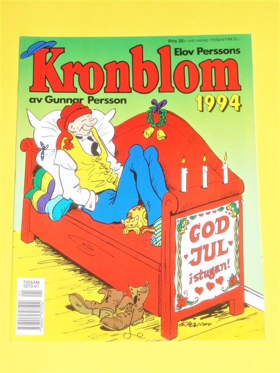 Kronblom 1994 bra skick, normalskick,normalslitet