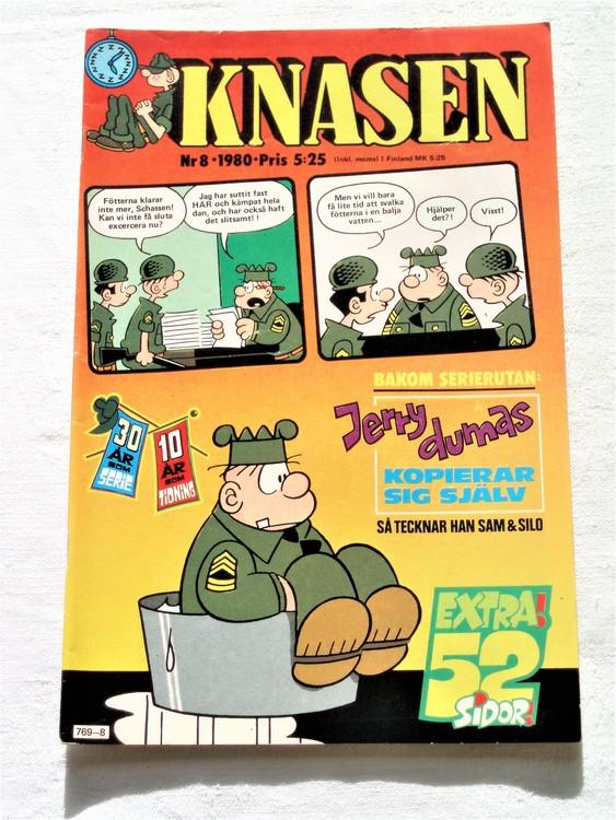 Knasen nr 8 1980 mycket bra skick