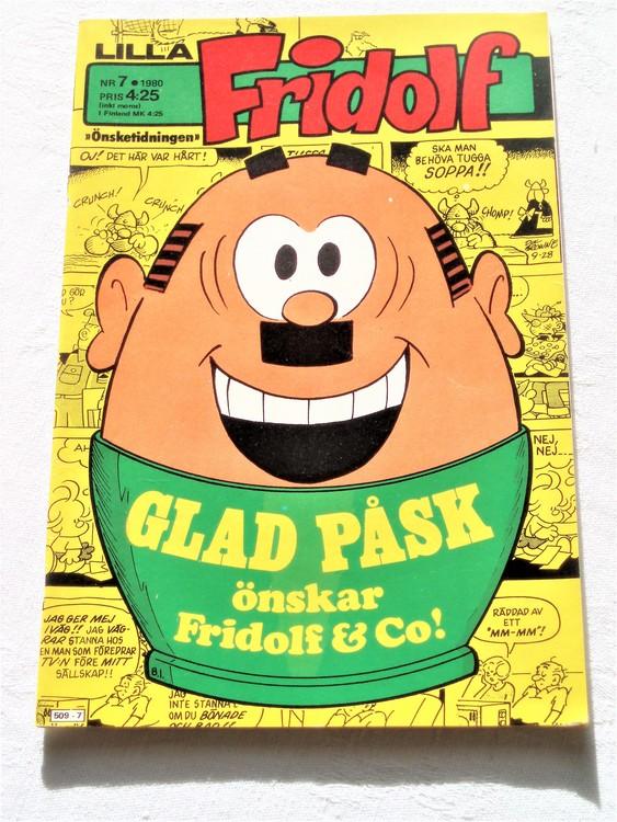 Lilla Fridolf nr 7 1980 bättre skick
