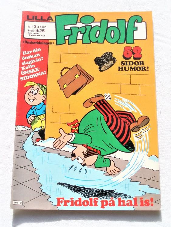 Lilla Fridolf nr 3 1980 bättre skick