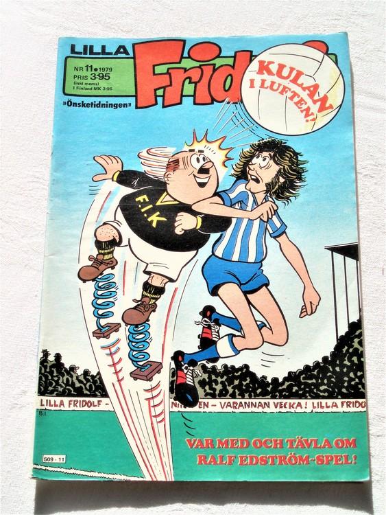 Lilla Fridolf nr 11 1979 bättre skick
