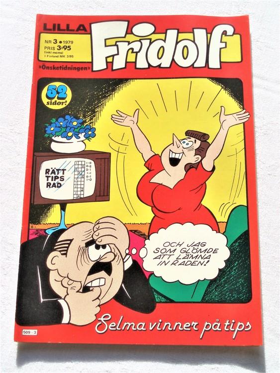 Lilla Fridolf nr 3 1979 mycket bra skick.Ny oläst