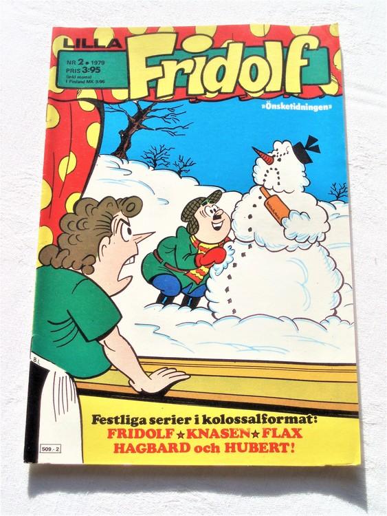 Lilla Fridolf nr 2 1979 mycket bra skick.Ny oläst