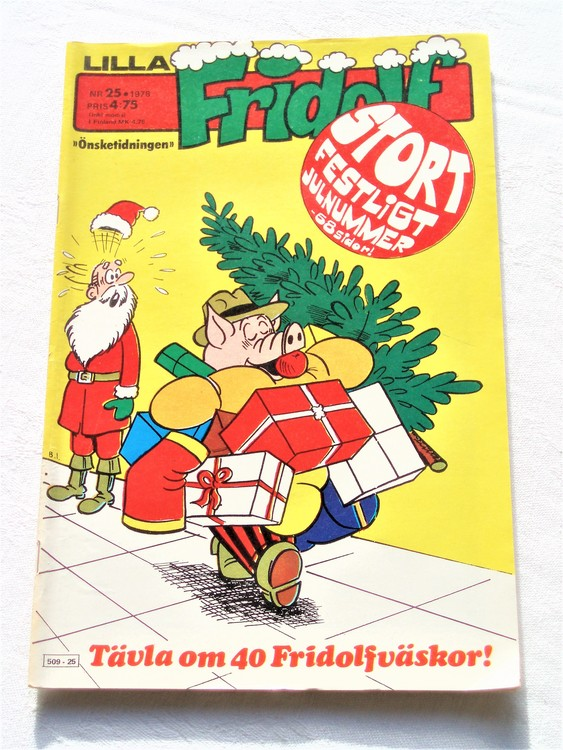 Lilla Fridolf nr 25 1978 mycket bra skick.Ny oläst