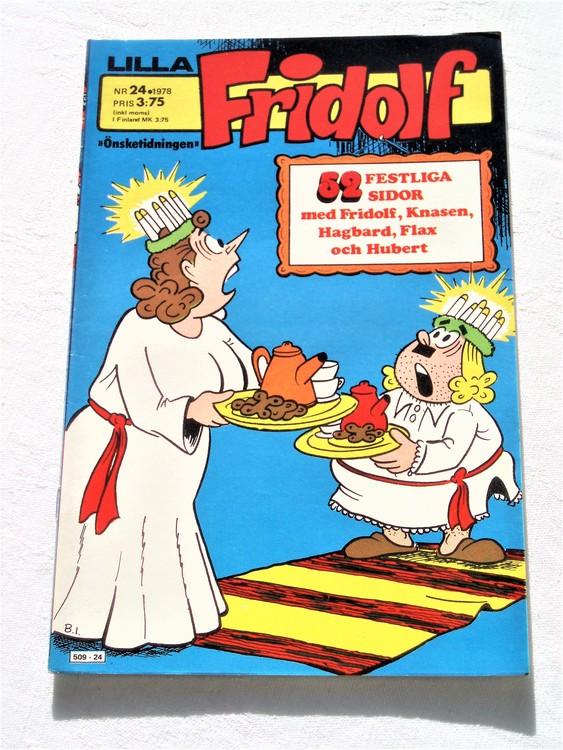 Lilla Fridolf nr 24 1978 mycket bra skick.Ny oläst