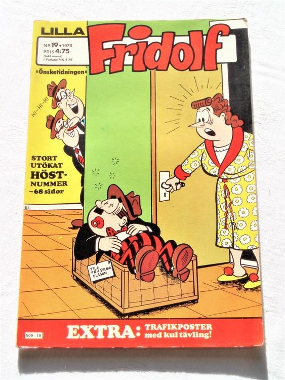 Lilla Fridolf nr 19 1978 mycket bra skick.Ny oläst