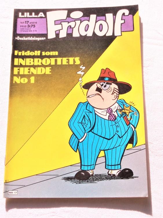 Lilla Fridolf nr 17 1978 mycket bra skick.Ny oläst