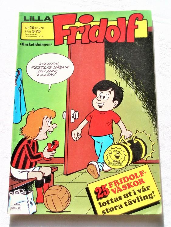 Lilla Fridolf nr 16 1978 mycket bra skick.Ny oläst