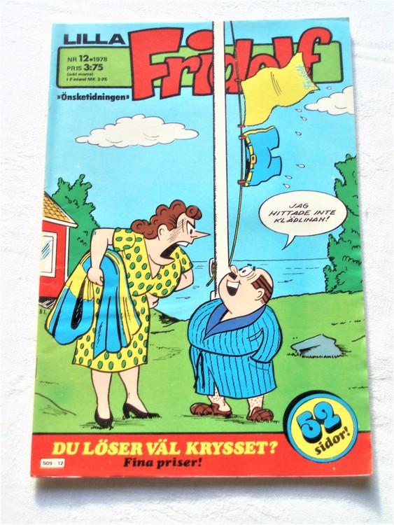 Lilla Fridolf nr 12 1978 mycket bra skick.Ny oläst.