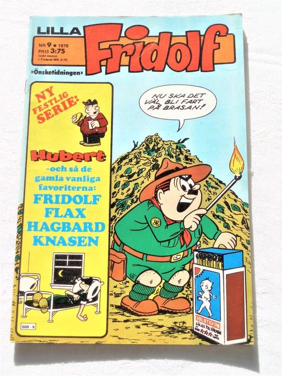 Lilla Fridolf nr 9 1978 mycket bra skick.Ny oläst.