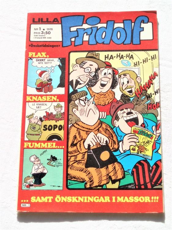 Lilla Fridolf nr 1 1978 mycket bra skick.Ny oläst .
