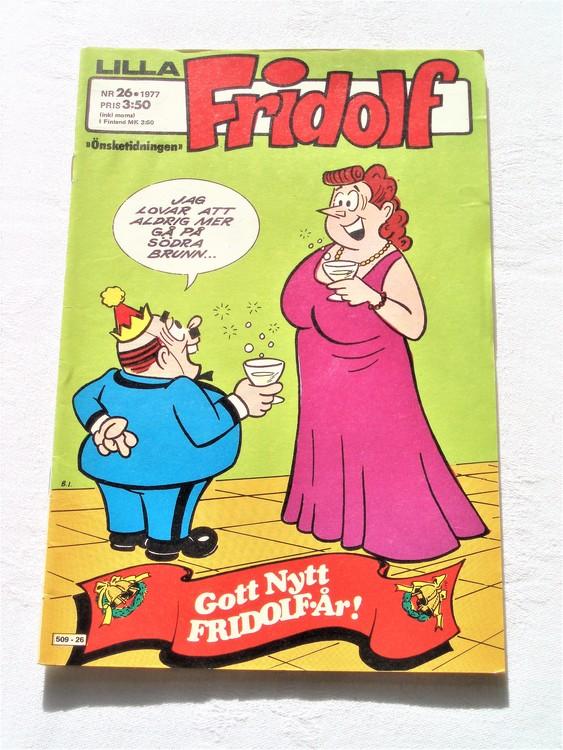 Lilla Fridolf nr 26 1977 mycket bra skick.Ny oläst .