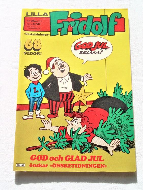 Lilla Fridolf nr 25 1977 mycket bra skick.Ny oläst .