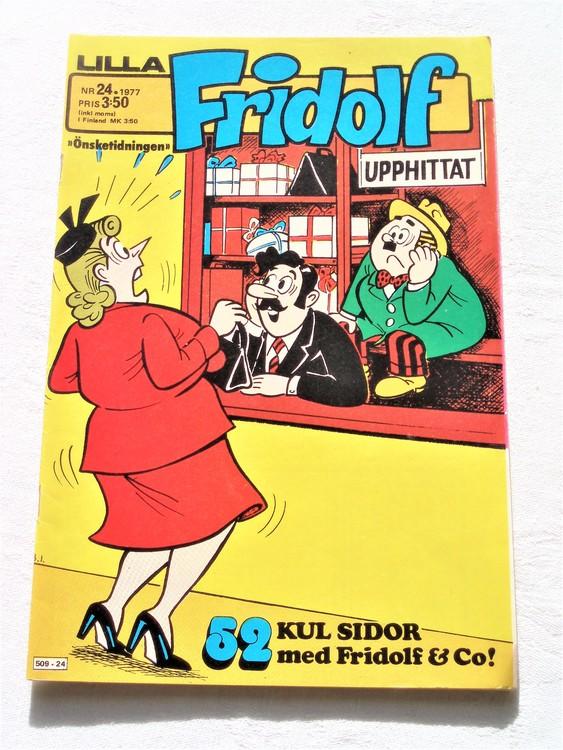 Lilla Fridolf nr 24 1977 mycket bra skick.Ny oläst .