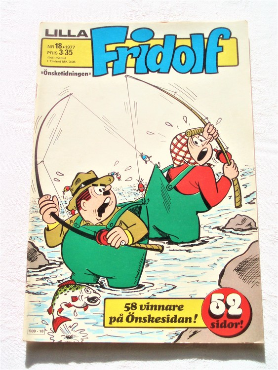 Lilla Fridolf nr 18 1977 mycket bra skick.Ny oläst .