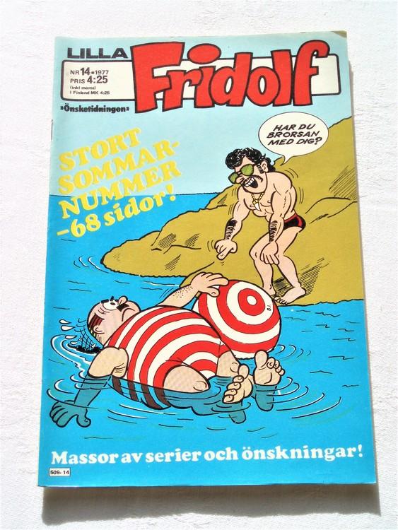 Lilla Fridolf nr 14 1977 mycket bra skick. Ny oläst .