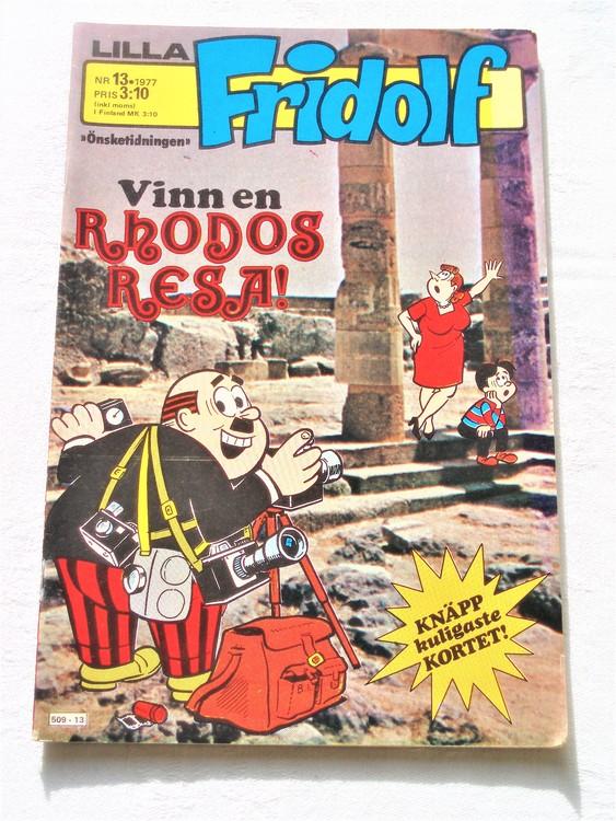 Lilla Fridolf nr 13 1977 mycket bra skick.Ny oläst