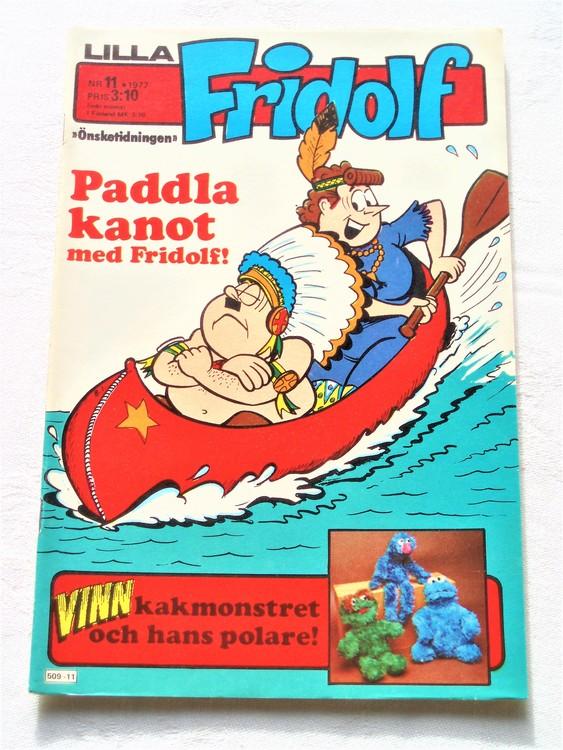 Lilla Fridolf nr 11 1977 mycket bra skick.Ny oläst