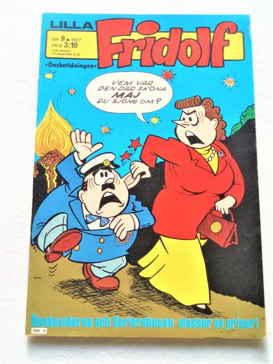 Lilla Fridolf nr 9 1977 mycket bra skick.Ny oläst