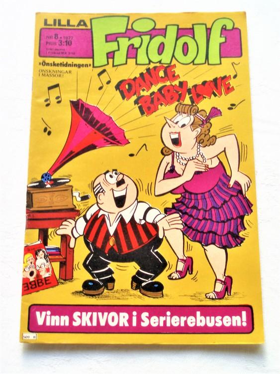 Lilla Fridolf nr 8 1977 mycket bra skick.Ny oläst